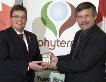 Phyterra yeast plant for wine opens doors in Eastern PEI