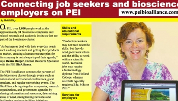 Connecting job seekers and bioscience on PEI